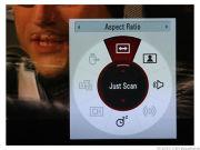 Меню быстрого доступа обеспечивает простой доступ к аудио/видео режимам и управлению форматом экрана