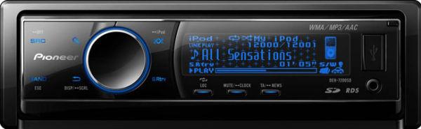 Автомагнитола Pioneer DEH-7200SD - Авто-звук.