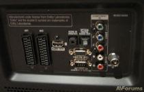 Порты и разъемы LG 50PK350
