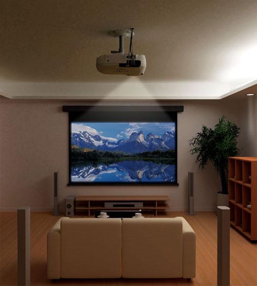 Домашний кинотеатр с проектором