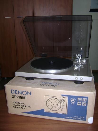 Виниловый проигрыватель Denon DP-300F