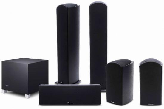 Pioneer представляет комплект колонок с поддержкой Dolby Atmos