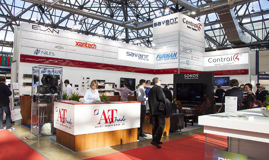 A&T trade  на выставке Integrated Systems Russia 2013