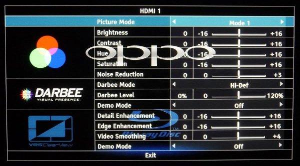 BD-проигрывателя Oppo BDP-105