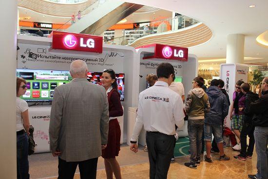 Фестиваль «LG CINEMA 3D SMART TV»