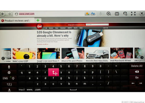 Веб-браузер LG LA8600
