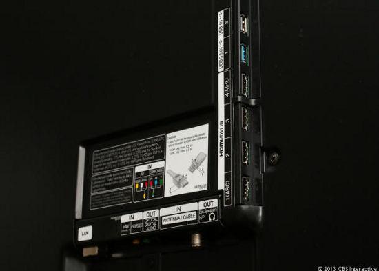 Порты и разъемы LG LA8600