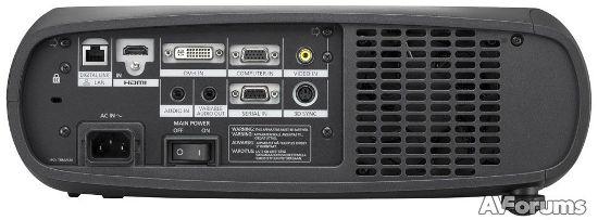 Порты и разъемы проектора Panasonic PT-RZ470EAK