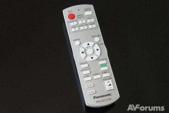 Пульт ДУ проектора Panasonic PT-RZ470EAK