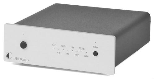 Цифроаналоговый преобразователь Pro-Ject USB Box S+