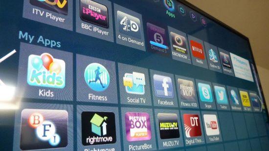 Приложения в телевизоре Samsung UE40F6400