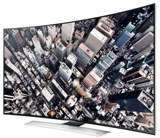 Изогнутый 3D LED Ultra HD телевизор Samsung UE78HU9000T