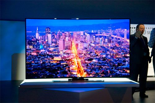 "Lcd Televisions: 78 ""flexible 4K Samsung TV goes on sale ..."