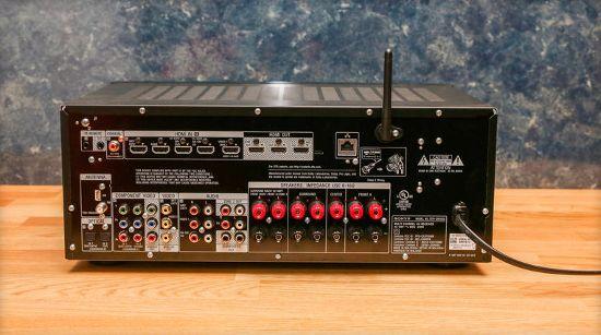 Порты и разъемы AV-ресивера Sony STR-DN1050