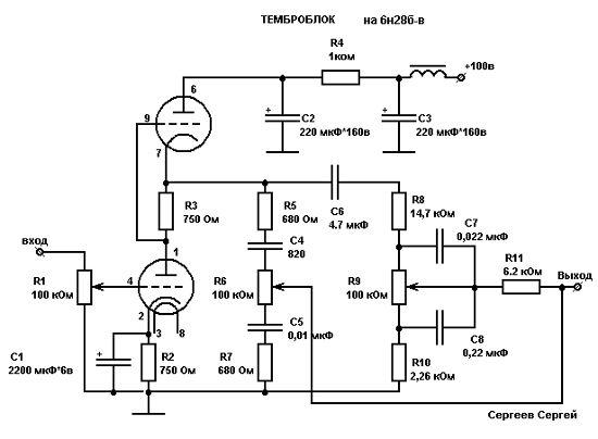 Термоблок на 6Н28Б-В