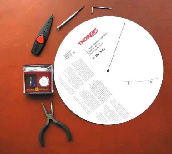 Инструменты для замены звукоснимателя