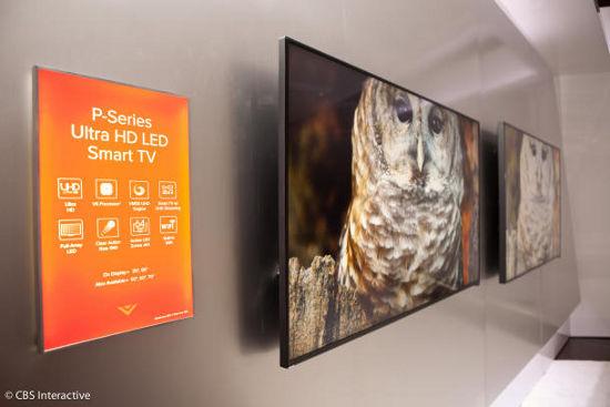 Модели телевизоров Vizio P серии