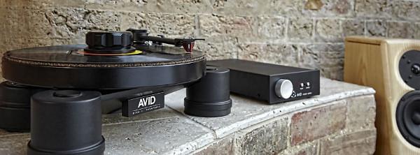 Проигрыватель виниловых дисков AVID Diva II SP