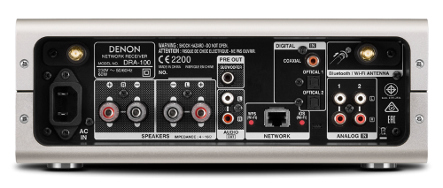 Обзор сетевого ресивера Denon DRA-100