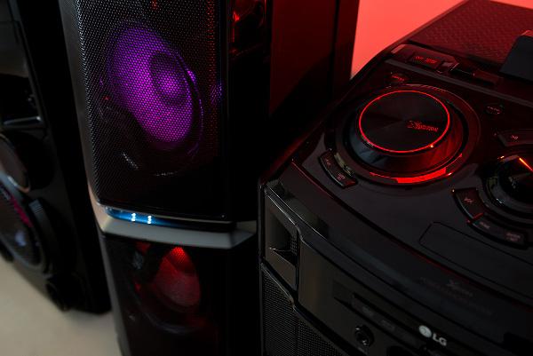 Аудиосистемы LG серии X-Boom