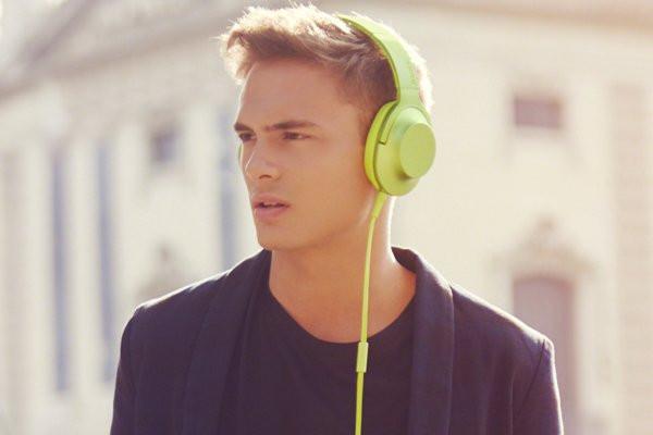 Наушники Sony h.ear on MDR-100AAP
