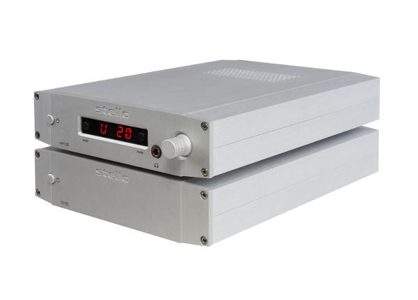 Предусилитель/усилитель для наушников Stello HP100 MKII и стерео усилитель мощности Stello S100 MKII