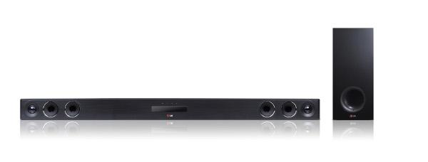 LG LAS655K — саундбар, наделенный функциями FM-тюнера и «караоке»