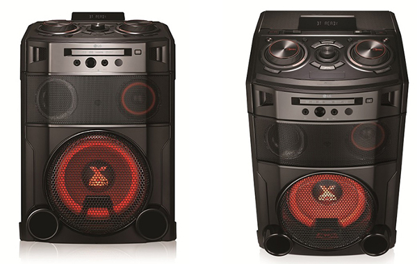 Аудиосистема LG OM7550K серии X-BOOM Cube теперь с караоке-опцией