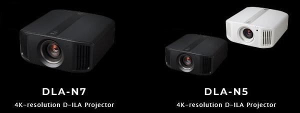JVC D-ILA N7 и N5