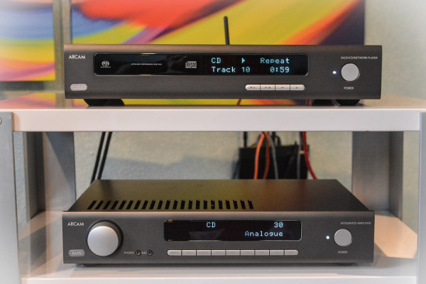 обзор на интегральные усилители SA10 и SA20; интернет-плеер CDS50