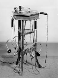 Приемник-электрофон на подставке