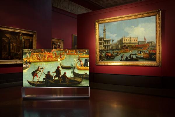 Технологии дополняют искусство: кампания «LG SIGNATURE X Пушкинский музей» в поддержку национального проекта «Культура»
