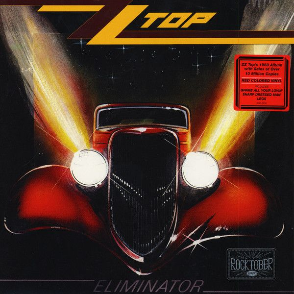 ZZ TOP - ELIMINATOR RED COLOURED