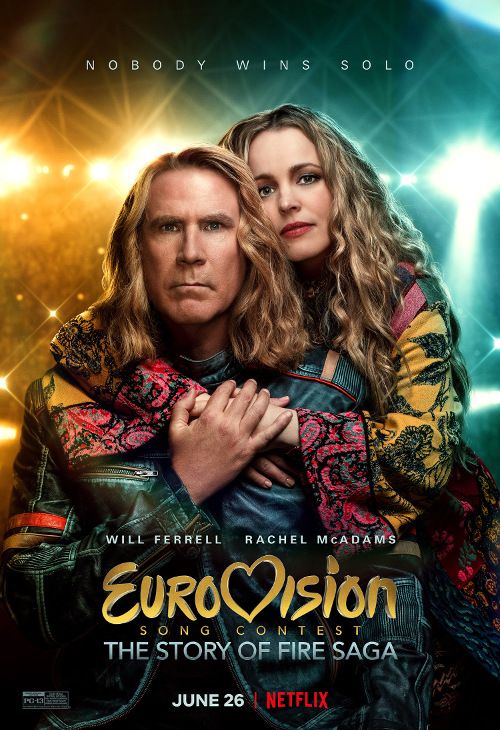 «Музыкальный конкурс Евровидение: История группы Fire Saga» 2020