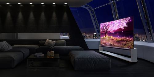 LG SIGNATURE Z1 8K OLED телевизор: премиальный дизайн, интеллектуальный процессор α9 IV поколения 8K в диагоналях 77'' и 88''