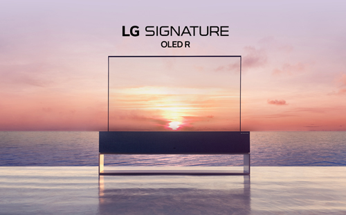 LG SIGNATURE OLED R: Преобразуя пространство и время