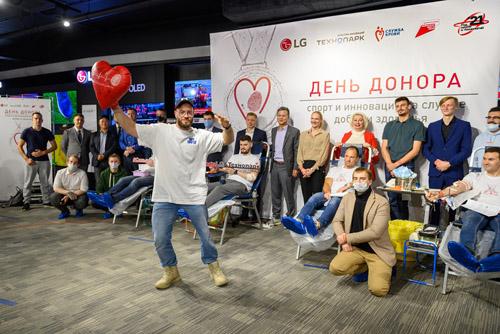 4-й день донора LG и «Технопарк» в Санкт-Петербурге