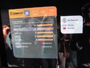 Conrac Optic 40 HD меню стало объемное и более удобное