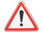 Знак восклицательный знак в треугольнике