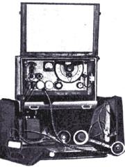 УКВ радиостанция А-7.
