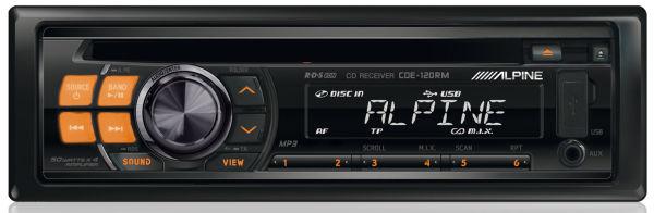 Автомагнитола Alpine CDE-120RRМощность встроенного усилителя: 50 Вт х 4 Тюнер FM/AM 1 пара линейных выходов...